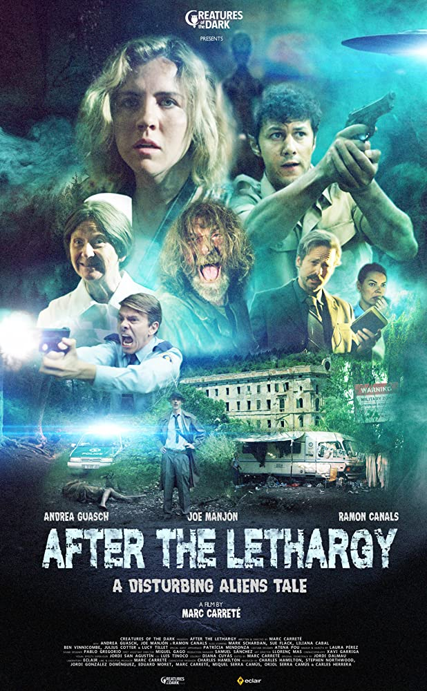 Liliana Cabal, Sue Flack, Mark Schardan, Ramon Canals, Andrea Guasch, Ben Vinnicombe, Joe Manjón, and Julius Cotter in After the Lethargy (2018)
