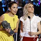 Toni Acosta and María León in Premios Goya 31 edición (2017)
