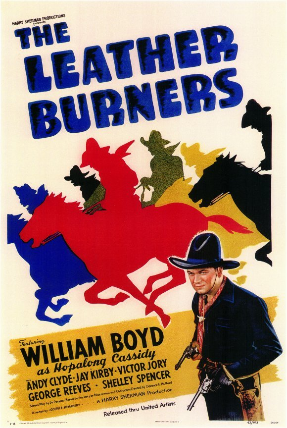 William Boyd in The Leather Burners (1943)