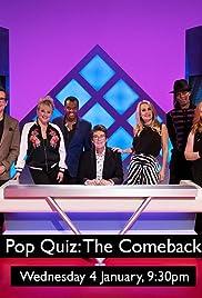 Pop Quiz: The Comeback Poster