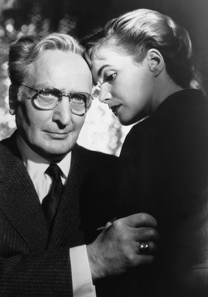 Hans Albers and Annemarie Düringer in Vor Sonnenuntergang (1956)