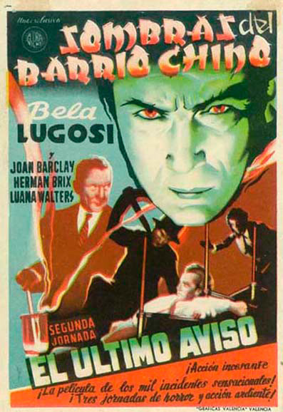Bela Lugosi in Shadow of Chinatown (1936)