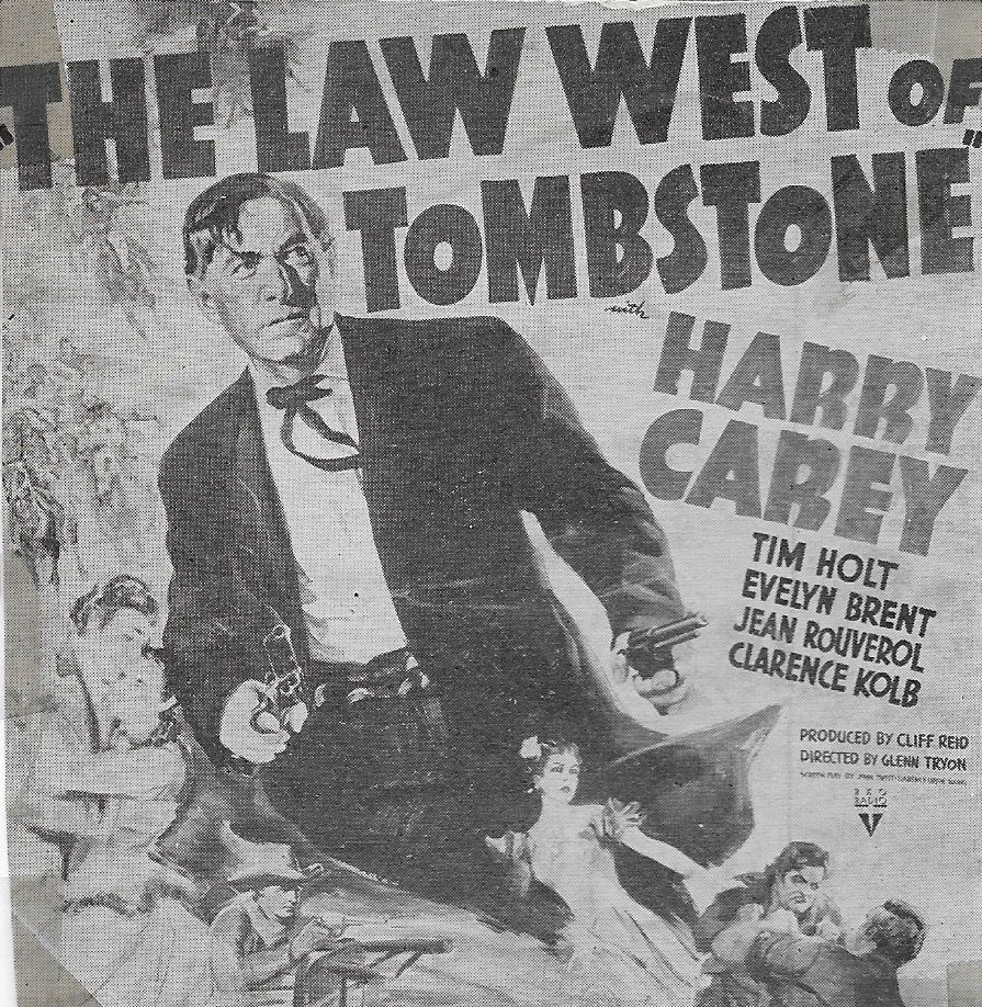 Harry Carey in The Law West of Tombstone (1938)