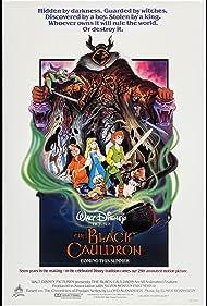 John Hurt, Grant Bardsley, John Byner, Clarence Nash, and Susan Sheridan in The Black Cauldron (1985)