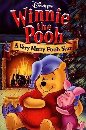 مشاهدة فلم الكرتون ويني الدبدوب: سنة حلوة يا ويني Winnie the Pooh A Very Merry Pooh Year 2002 أونلاين مترجم