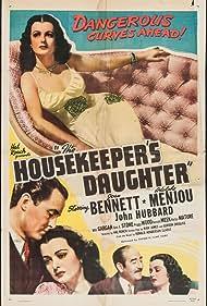Joan Bennett, John Hubbard, and Adolphe Menjou in The Housekeeper's Daughter (1939)