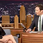 Jimmy Fallon and Margot Robbie in The Tonight Show Starring Jimmy Fallon (2014)