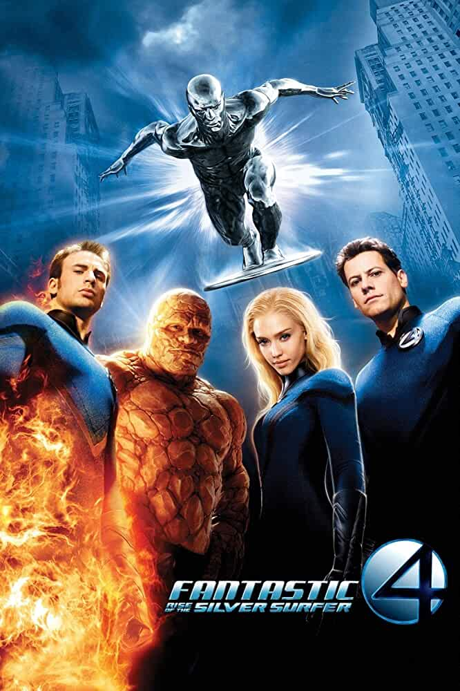 Fantastic 4: Rise of the Silver Surfer (2007) in Hindi