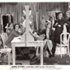 Glenda Farrell, Suzanne Kaaren, Carole Landis, and Rosella Towne in Blondes at Work (1938)