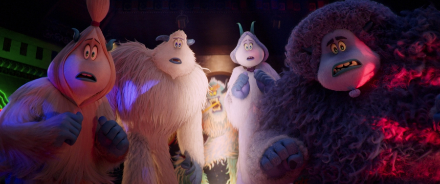 LeBron James, Channing Tatum, Gina Rodriguez, and Zendaya in Smallfoot (2018)