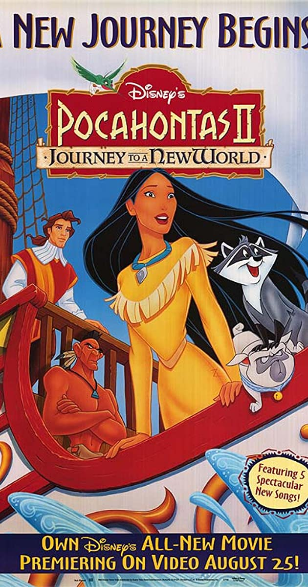 Subtitle of Pocahontas II: Journey to a New World