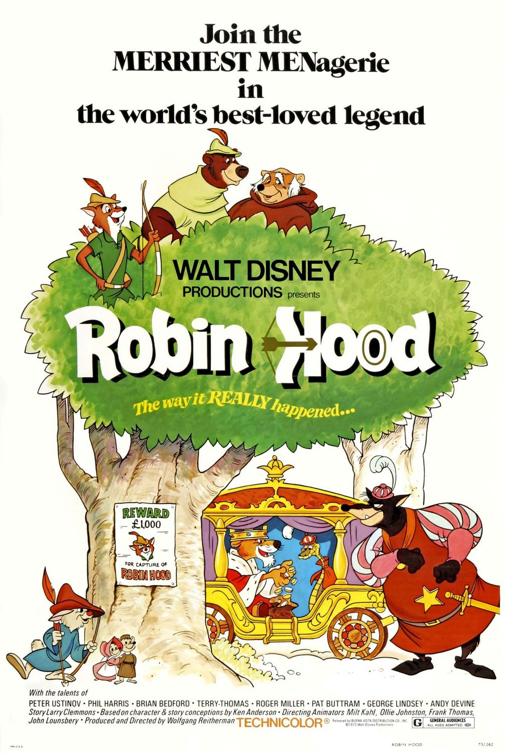 Robin Hood (1973) BluRay 480p, 720p & 1080p