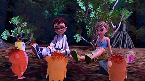 It is Hallowaiian on the Big Island of Hawaii, so excitement and mischief are in the air. Three young friends, Kai, Eddie and Leilani uncover a mysterious idol in a secret cave and quickly uncover that they have unleashed an ancient evil upon the island in the form of a giant pineapple headed monster.