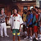 Spike Lee, Danny Aiello, and Anthony Barboza in Do the Right Thing (1989)