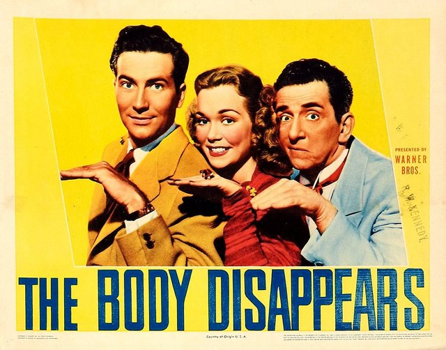 The Body Disappears (1941)
