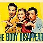Edward Everett Horton, Jeffrey Lynn, and Jane Wyman in The Body Disappears (1941)