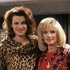 Morgan Fairchild and Sandra Bernhard in Roseanne (1988)