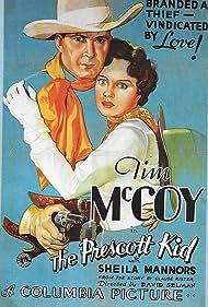 Tim McCoy and Sheila Bromley in The Prescott Kid (1934)