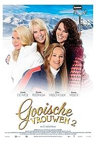 Linda de Mol, Tjitske Reidinga, Lies Visschedijk, and Susan Visser in Gooische Vrouwen II (2014)