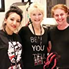 Dee Wallace, Brenda Occhipinti, and Shelby Iacometti at an event for Red Christmas (2016)