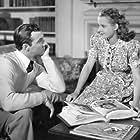 Mona Freeman and Zachary Scott in Danger Signal (1945)
