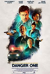 Denis O'Hare, Tom Everett Scott, Angélica Celaya, and James Jurdi in Danger One (2018)