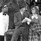 Jimmy Durante, Charles R. Moore, and Gertrude Niesen in Start Cheering (1938)