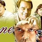 Dharmendra, Bobby Deol, Sunny Deol, Shilpa Shetty Kundra, and Katrina Kaif in Apne (2007)