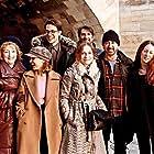 Isabelle Huppert, Anthony Fabian, Lesley Manville, Xavier Marchand, Lambert Wilson, Roxane Duran, Alba Baptista, and Lucas Bravo in Mrs. Harris Goes to Paris (2022)