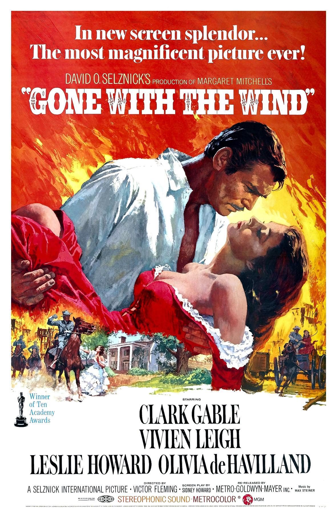 Rüzgar Gibi Geçti (Gone with the Wind)  izle