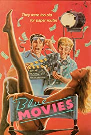Blue Movies(1988) Poster - Movie Forum, Cast, Reviews
