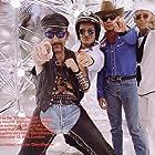 Bono, Adam Clayton, Larry Mullen Jr., The Edge, and U2 in U2: The Best of 1990-2000 (2002)