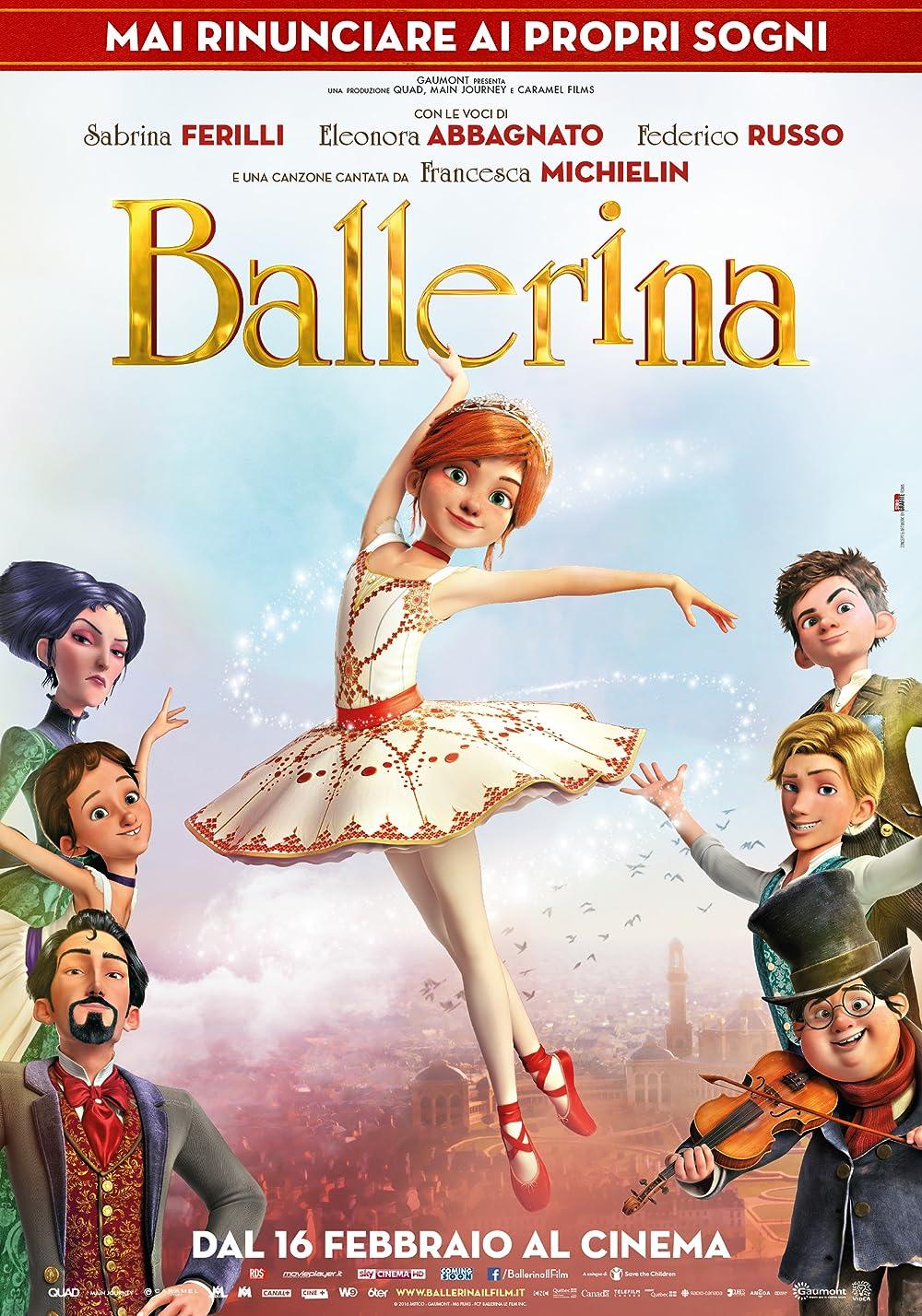 Ballerina 2016 ORG Hindi Dual Audio 480p BluRay ESubs 300MB Download