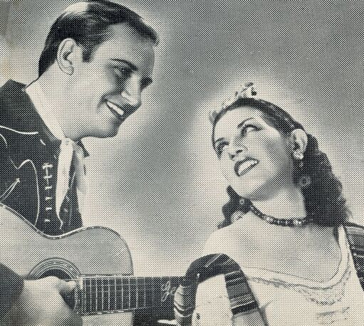 Gene Autry and Cecilia Callejo in Boots and Saddles (1937)