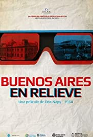 Buenos Aires en relieve Poster