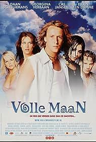 Cas Jansen, Daan Schuurmans, Ellen Ten Damme, Georgina Verbaan, and Chantal Janzen in Volle maan (2002)
