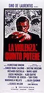 La violenza: Quinto potere (1972) Poster