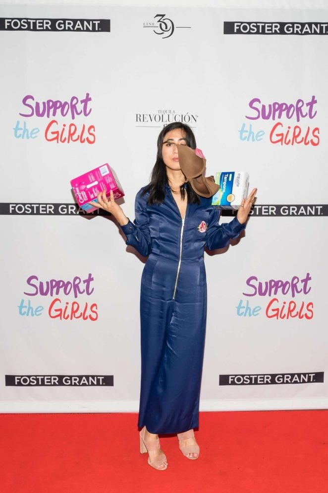 Elizabeth Trieu at an event for Support the Girls (2018)