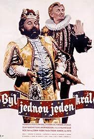 Vlasta Burian and Jan Werich in Byl jednou jeden král... (1955)