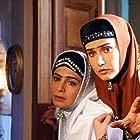 Sima Tirandaz and Ladan Mostofi in Khane Dar Tariki (2004)