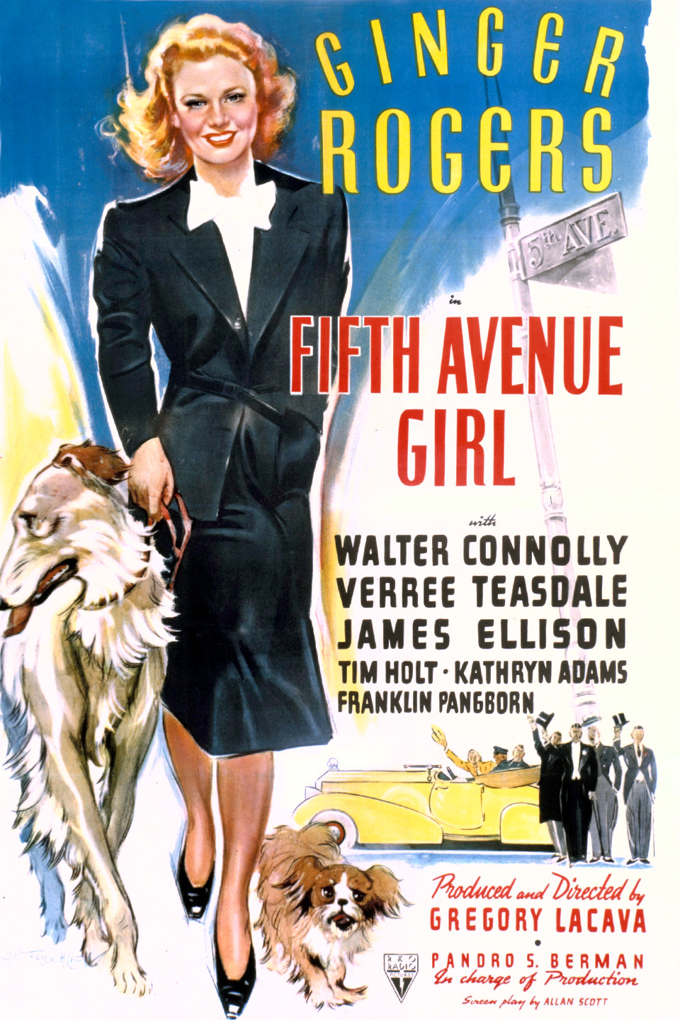 Ginger Rogers in Fifth Avenue Girl (1939)
