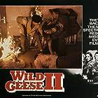Barbara Carrera, Scott Glenn, and Edward Fox in Wild Geese II (1985)