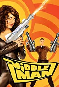 Matt Keeslar and Natalie Morales in The Middleman (2008)