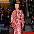Tilda Swinton at an event for At Eternity's Gate (2018)
