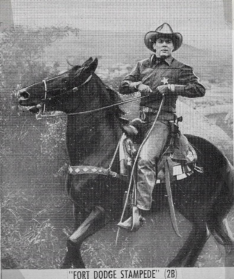 Allan Lane and Black Jack in Fort Dodge Stampede (1951)