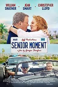 Christopher Lloyd, William Shatner, and Jean Smart in Senior Moment (2021)