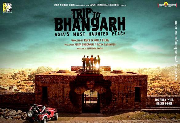 Manish Chaudhary, Suzanna Mukherjee, Piyush Raina, Rachit Behl, and Rohit Chaudhary in Trip to Bhangarh: Asia's Most Haunted Place (2014)