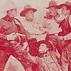 George Chesebro, Al Ferguson, Hoot Gibson, Charles King, and Ken Maynard in Death Valley Rangers (1943)