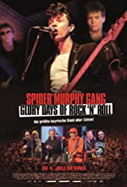 Spider Murphy Gang - Glory Days of Rock 'n' Roll Poster