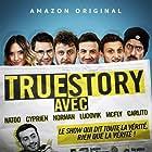 Norman Thavaud, Cyprien Iov, Nathalie Odzierejko, Raphaël Carlier, and David Coscas in True Story Avec (2020)